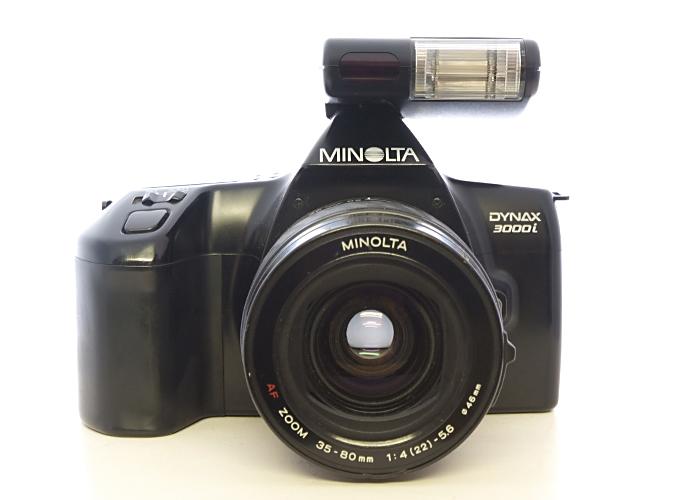 minolta dynax 3000i, 35-80 lens, d314i flash